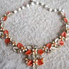 AUTUMN LEAF NECKLACE & BRACELET SET
