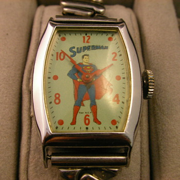 1955 Superman Wristwatch - Wristwatches
