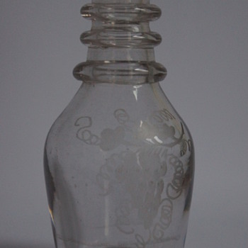 Miniature Georgian Decanter - Art Glass