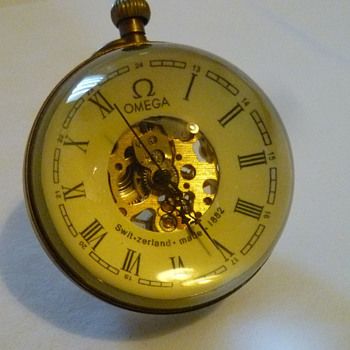 Omega swiss pocket watch 1882