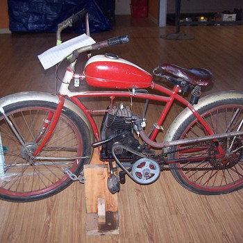 WWII Motorized Bicycle - Sporting Goods