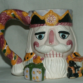 "Vintage ""Toby"" Mug~ X'mas Nutcracker - Kitchen"