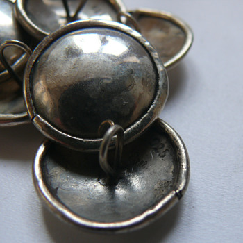 silver buttons - Sewing
