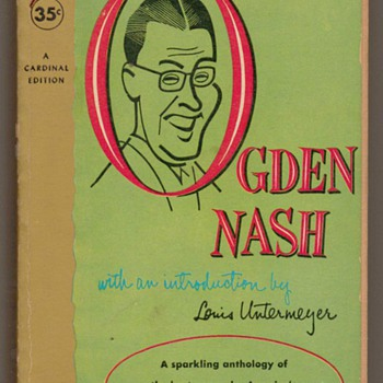 1955 - Ogden Nash - Books