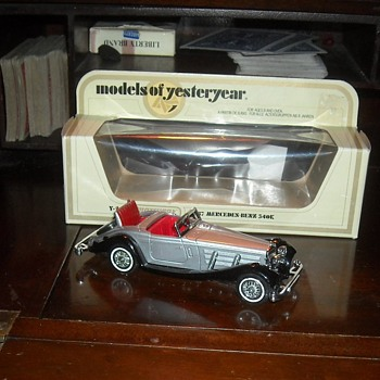 Matchbox Models of Yesteryear Y-20 1937 Mercedes-Benz 540K - Model Cars