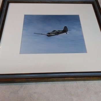 VINTAGE GERMAN PLANE PHOTO