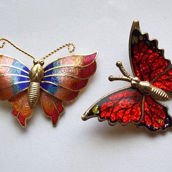 Butterflies  - Costume Jewelry