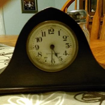 Miniature Seth Thomas Mantel Clock - Clocks