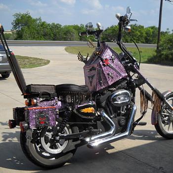 Strange motorcycle