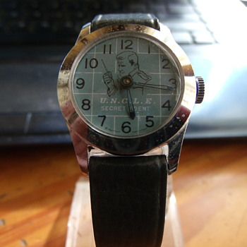 1966 Man from U.N.C.L.E. wristwatch