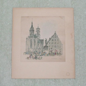 Stuttgart Germany print
