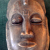 Ivory coast  Handcrafted wood face