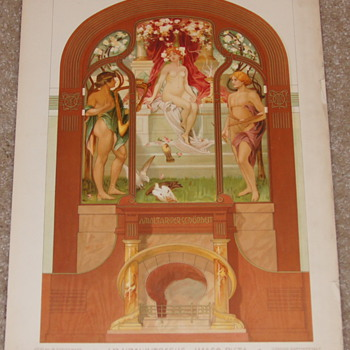 Absolutely Stunning Art Nouveau Prints - Imago Picta - 1903 - J. P. Krawutschke