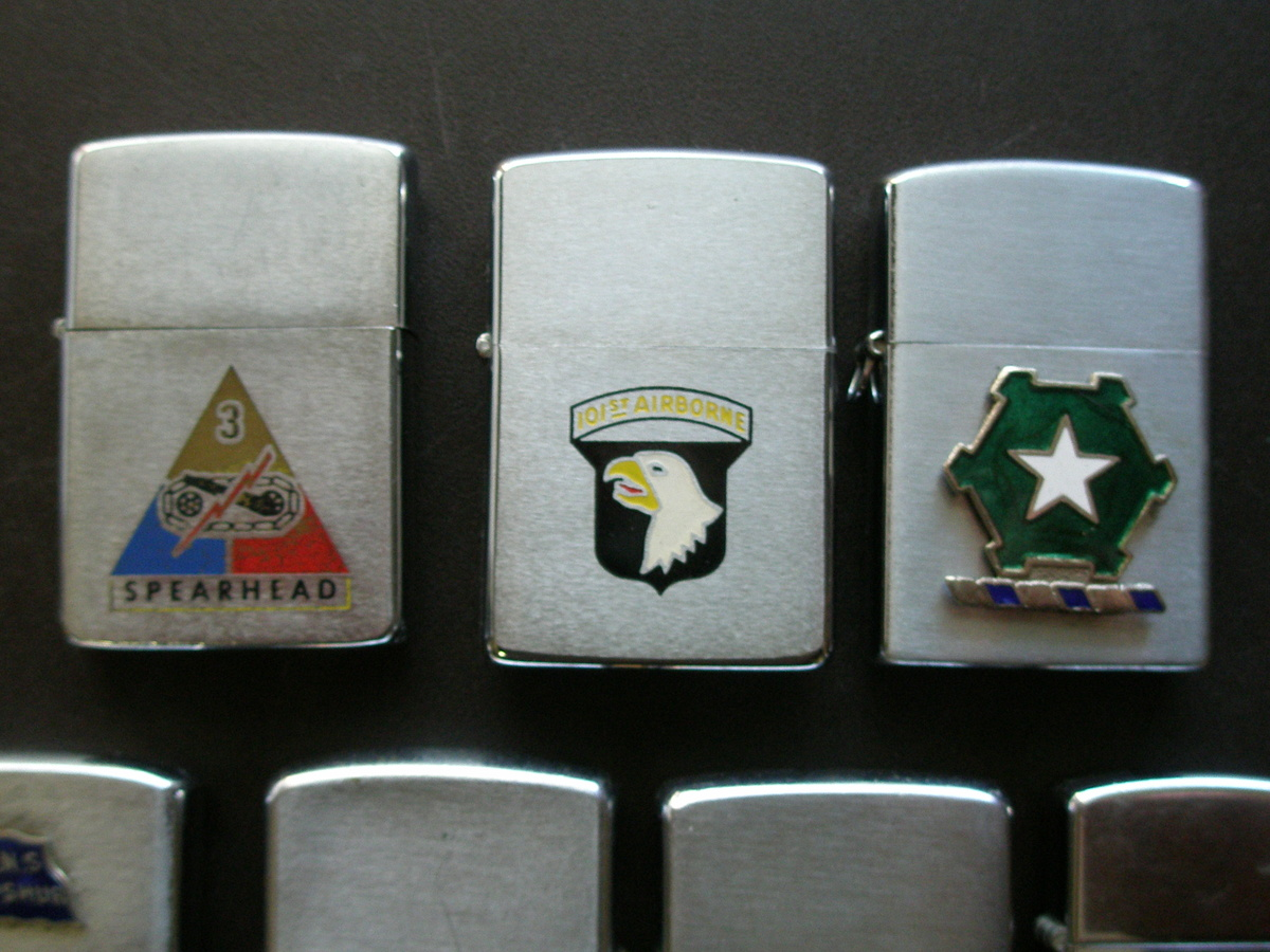 Military Lighters Most Are Zippo's   Collectors Weekly