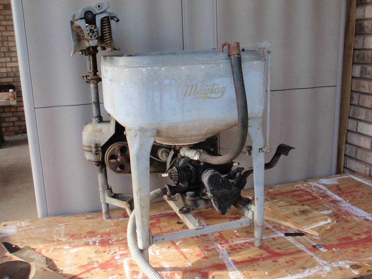1926 Model 82 Maytag Gasoline Wringer Washer 1939 Twin