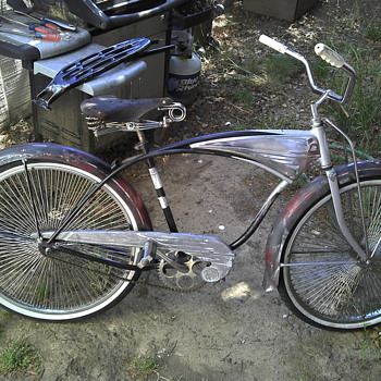 Garage sale find- 1959 Schwinn - Sporting Goods