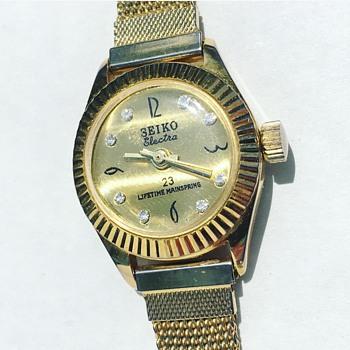 Vintage SEIKO Electra Wrist Watch