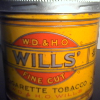 W.D. & H.O. Wills Tobacco Tin