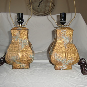 Ancient Chinese Lamps - Lamps