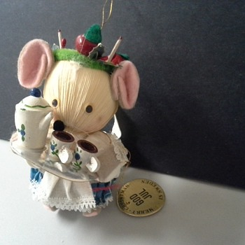 Swedish Christmas Mouse - Christmas