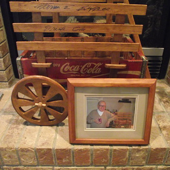 Coca Cola Wagon Autographed by Warren Buffett - Coca-Cola