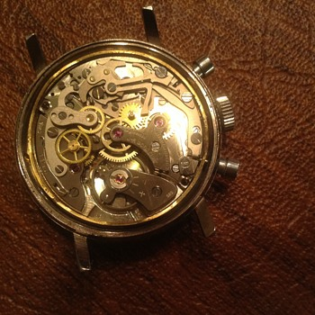 VINTAGE  SEABOARD YACHT CHRONOGRAPH WATCH