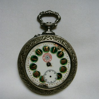 Old pocket watch.