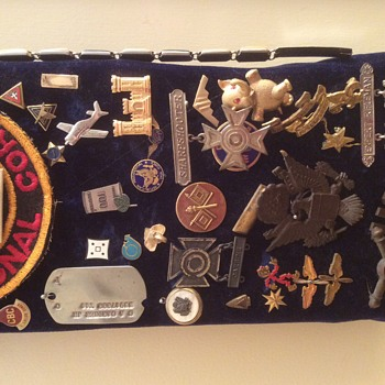 Family Collection - Army, Air Force Association, Scouts, Political, Music, You name it!! - Medals Pins and Badges
