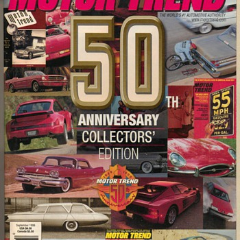 1999 Motor Trend 50th Anniversary Issue - Paper