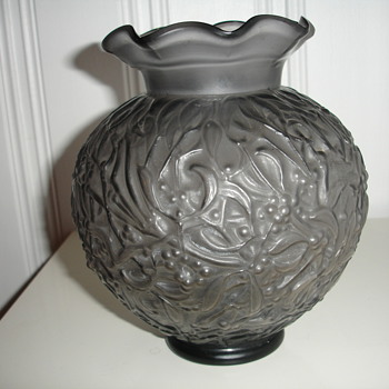 French Vase (?) - Art Glass