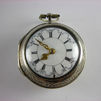 1787 Repousse English Verge Fusee - Pocket Watches