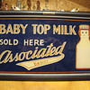 Associated Dairy Baby Top Milk Lighted Sign....