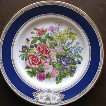 Royal Wedding Plate - China and Dinnerware
