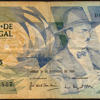Portugal - (100) Escudos Bank Note