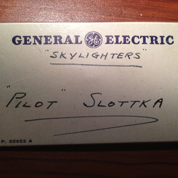 GE Skylighters nametag