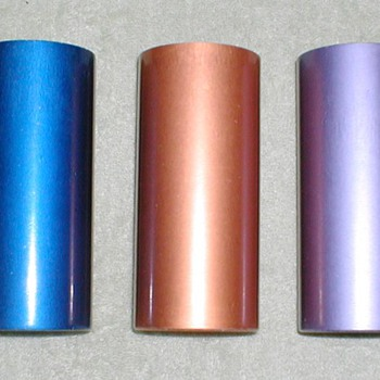 1960's Anodized Aluminum Color Tumblers
