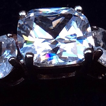 Silver cz ring - Fine Jewelry