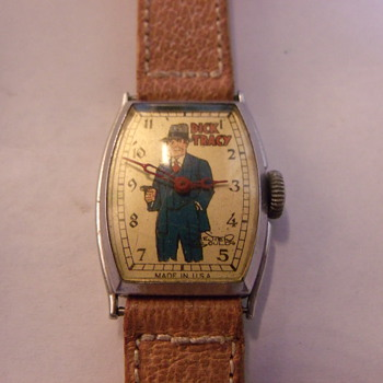 1935 New Haven Dick Tracy Wrist Watch