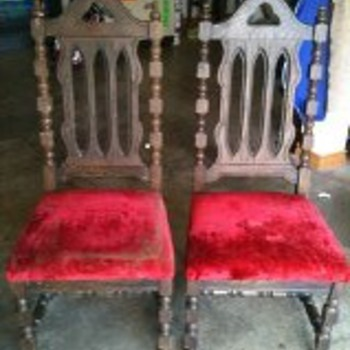 Found these junked - Furniture