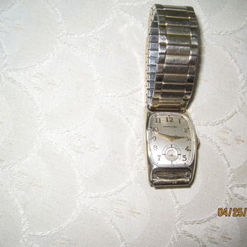 1944-45 Hamilton, 982 movement 19j. I am the original owner
