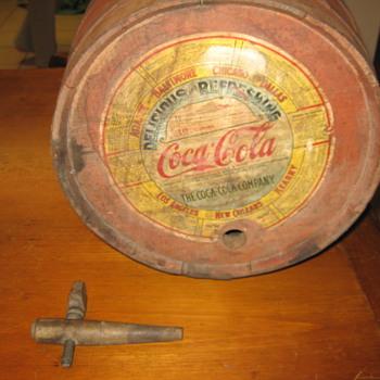 1930's Coca-Cola Syrup Keg