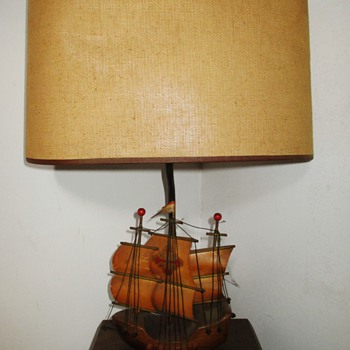 Vintage ship lamps