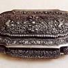 Antique Silver Jewelry Casket or Box