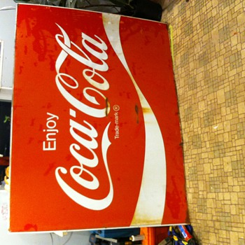 Big Old Coca-Cola sign