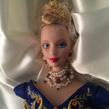 Faberge porcelain barbie - Dolls