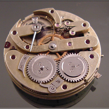 Unkown Swiss Pocket Watch Movement