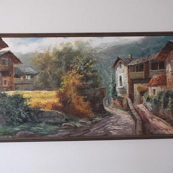 J. Castells Marti painting - Visual Art