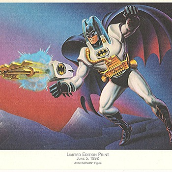 Limited Edition BATMAN PRINTS June5, 1992 - Comic Books