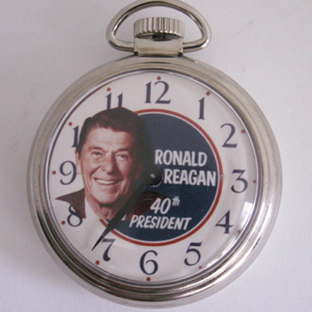 Westclox, Ronald Reagan - Pocket Watches