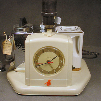 1950's Teasmade, a very strange appliance